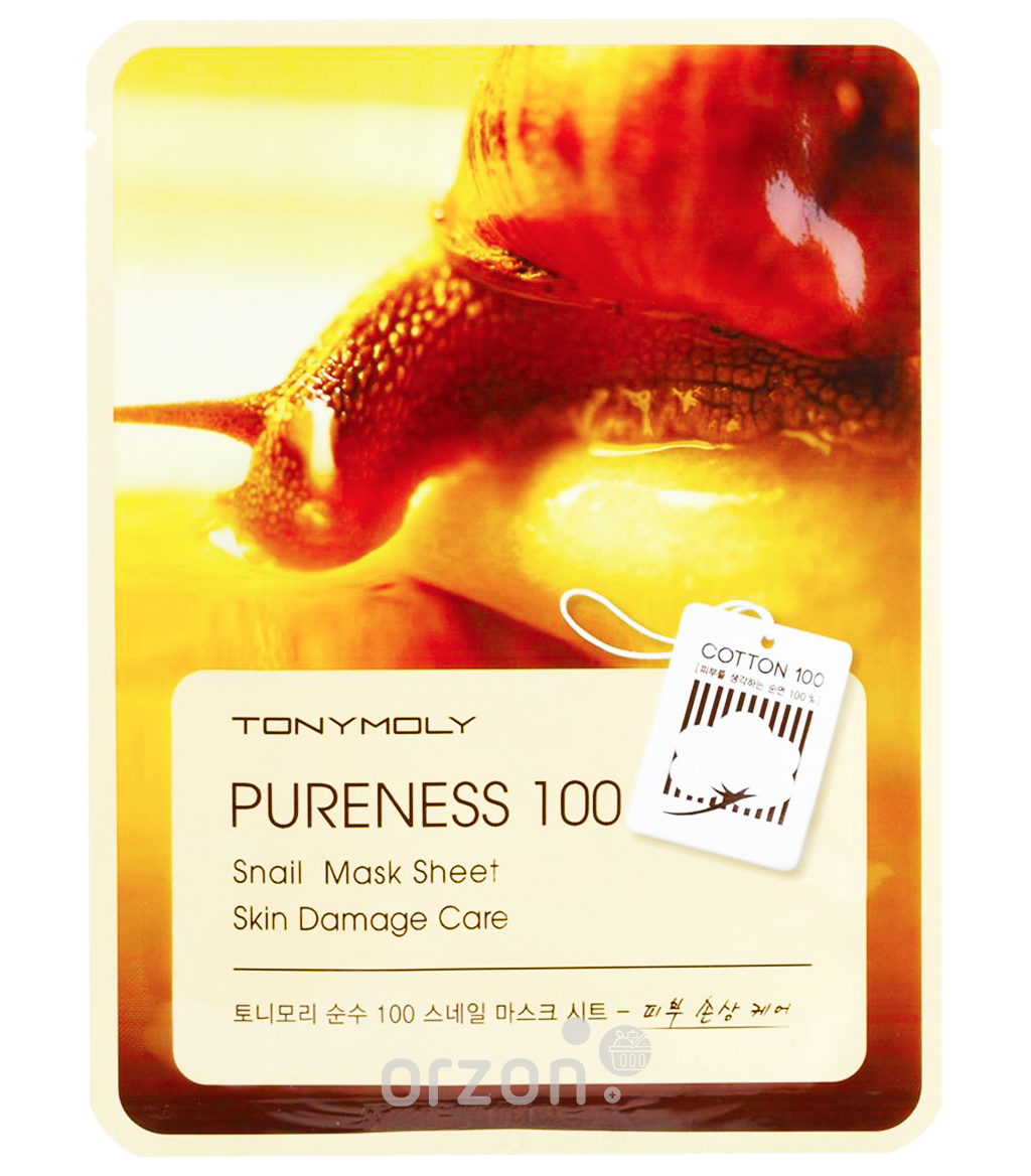 Маска для лица 'Tony Moly' Pureness 100 Skin Irritation Care Mask 21 мл от интернет магазина Orzon.uz